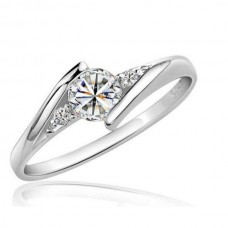 Sterling Silver Zirconia Ring
