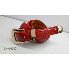 Fashion Red Belt