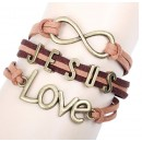 Leather Bracelet - MB12610