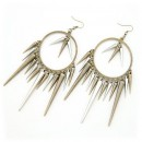 Retro Rivets Earrings