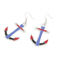 Fashion Anchor Earrings