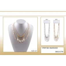low price fashion water drop pearls necklace