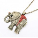 Elephant Sweater Necklace