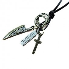 Retro Style Dagger Necklace