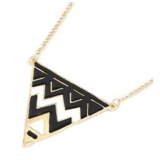 Exaggerated Triangle Necklace