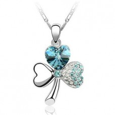 Flower Heart Necklace