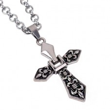 Alloy Cross Necklace