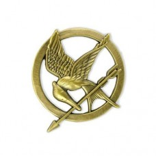 Katniss Bronze Pin Brooch
