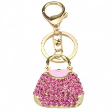 Diamante Bag Keychain